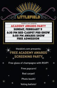 Oscar Party at Littlefield