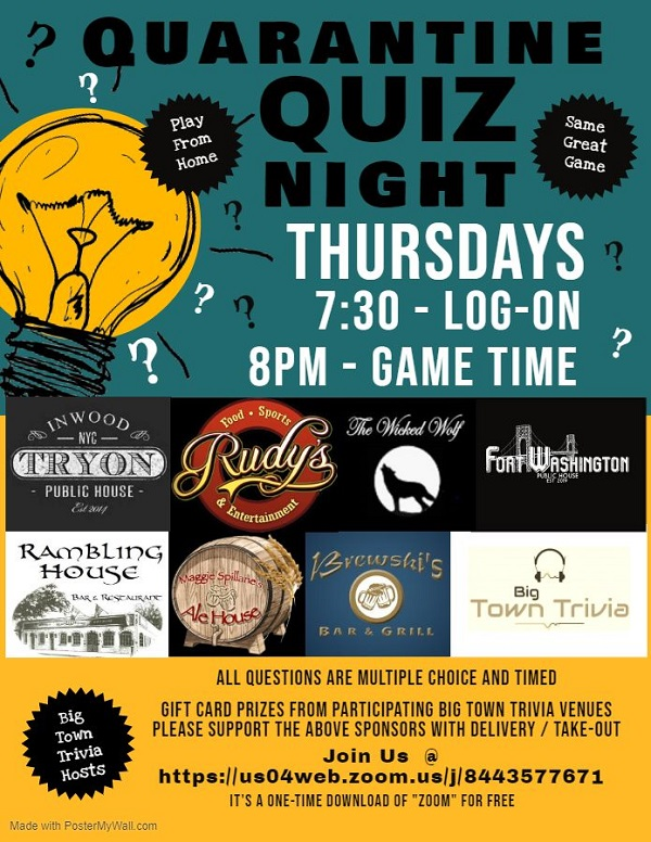 Quarantine Quiz Night