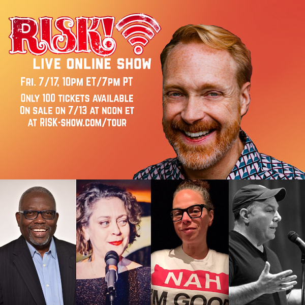 Risk! Live Stream Storytelling Show